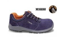 Beta  7210PB Perforált hasítottbőr cipő